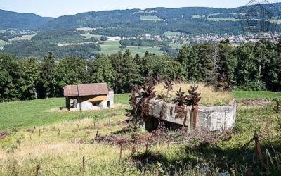 Buffet campagnard au Fort Pré-Giroud de Vallorbe