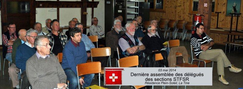 Dernière assemblée des délégués