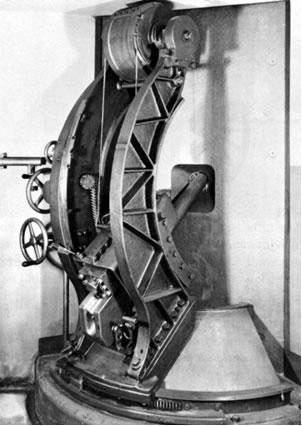 Canon de 5,3 cm 1887 sur affût de casemate embrasure minimum