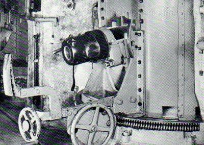 1. Canon de 8,4 cm sur affût de casemate à recul court (Giovanola) - Galerie de Morcles