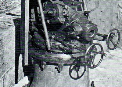 4. Canon de 8,4 cm 1879 sur affût à pivot central (crinoline ) - Andermatt