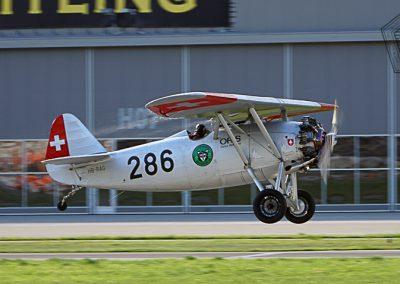 2017.09.15 - Sion Air Show - Dewoitine D-26 (1)