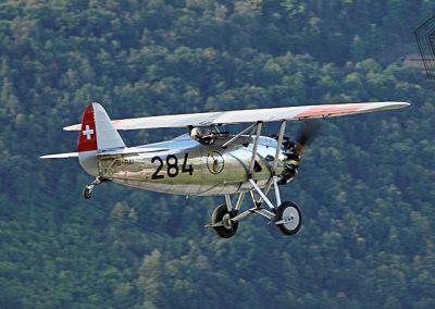 2017.09.15 - Sion Air Show - Dewoitine D-26 (2)