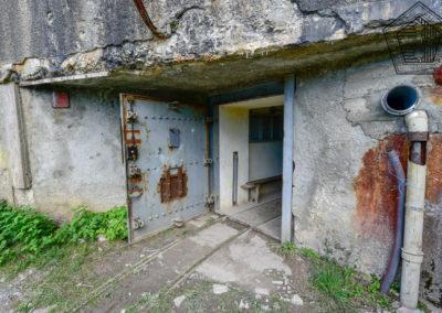Entrée mixte et voies Decauville