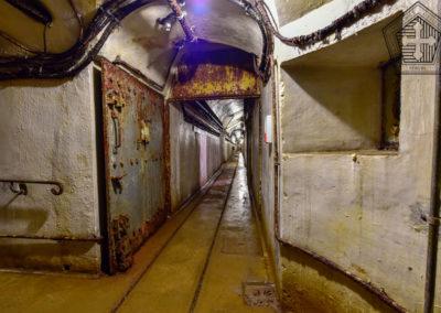 Couloirs et position de mitrailleuse