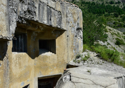 Embrasures Lance-mines et Canons