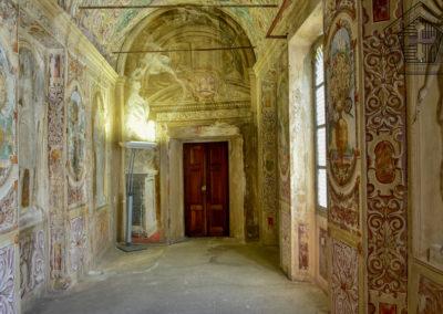 Château d'Arnad inférieur; galerie des femmes fortes