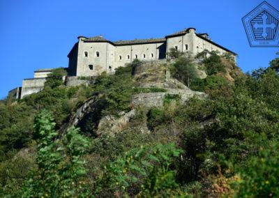Fort de Bard depuis l'Est