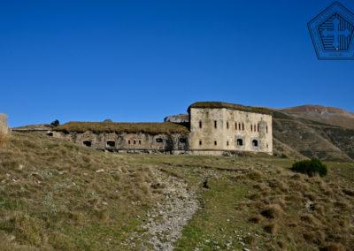 fort de Colle Alto - accessibilité