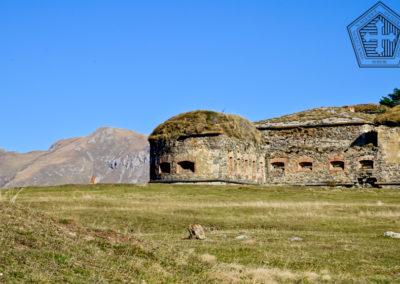 fort de Colle Alto - caponnière flanc est