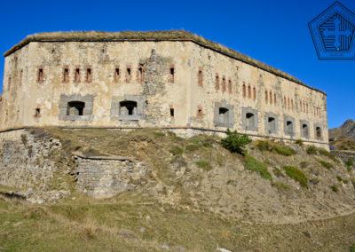 fort de Colle Alto - flanc sud