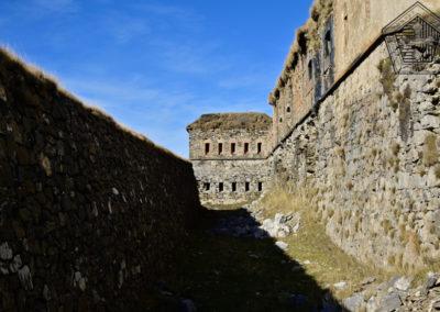 fort de Colle Alto - fossé est et caponnière