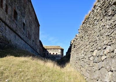 fort de Colle Alto - fossé est avec caponnière