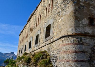 fort de Colle Alto - flanc ouest
