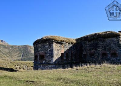 fort de Colle Alto - caponnière Nord Est