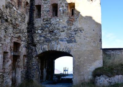 fort de Colle Alto - porte et corps de garde