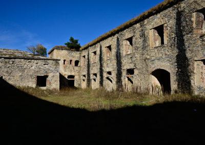 fort de Colle Alto - impressions