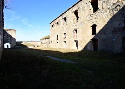 fort de Colle Alto - cour intérieure