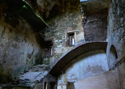 fort de Colle Alto - accès aux étages