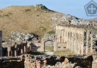 fort de Colle Alto - Casernement