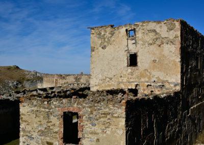 fort de Colle Alto - Casernement façade sud