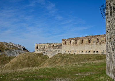 fort de Colle Alto - Casernement façade ouest
