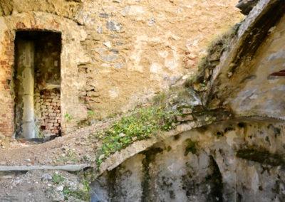 fort de Colle Alto - Casernement accès à l'étage