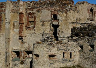 fort de Colle Alto - Casernement et caponnière