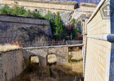 Fort des Trois-Têtes - pont levis