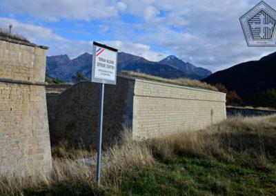 Fort des Trois-Têtes - Front