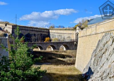 Fort des Trois-Têtes - entrée après corps de garde