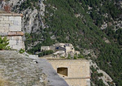 Fort des Salettes - a l'arrière plan