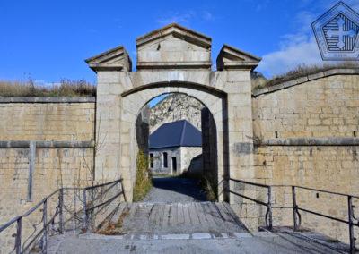 Fort des Trois-Têtes - Demi-lune et Corps de garde