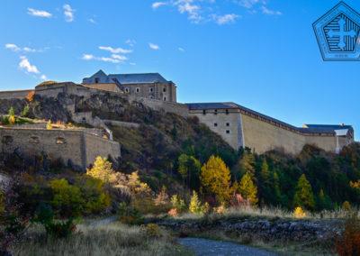Fort des Trois-Têtes - Porte de la Durance