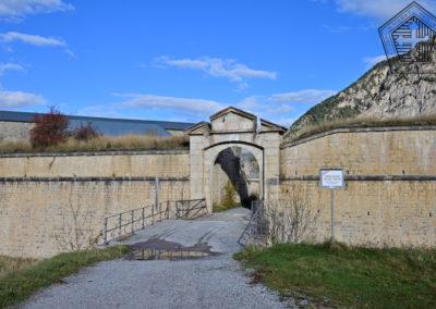 Fort des Trois-Têtes - Porte Royale