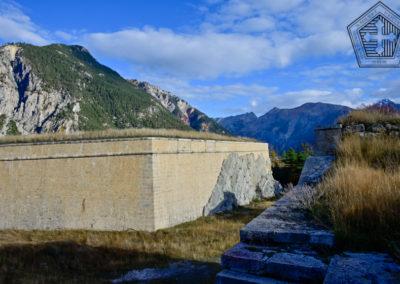 Fort des Trois-Têtes - Le fossé