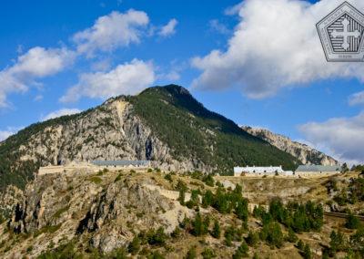 Fort des Trois-Têtes depuis l'Est