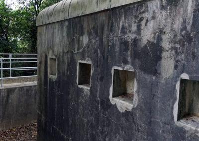 2016.10.17 -HK - Shau Kei Wan - Fort Lei Yue Mun - Caponnière Nord – Vue extérieure (1)
