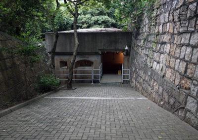 2016.10.17 -HK - Shau Kei Wan - Fort Lei Yue Mun - Caponnière Nord – Vue extérieure (3)