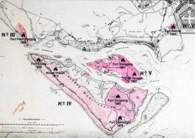 Carte de l'île de Blakang Mati - Sentosa