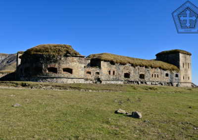 fort de Colle Alto - Front Est